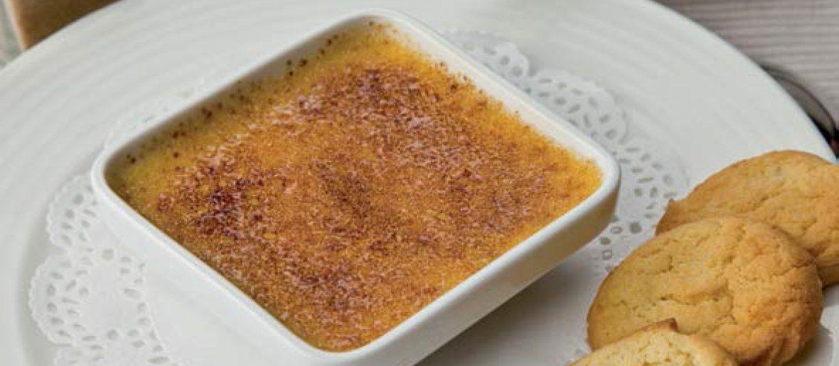 Crème brûlée au pain d'épices Fermiers d'Argoat