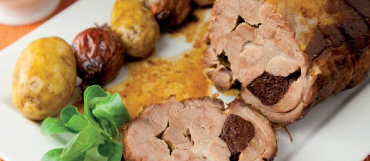 Echine de porc au boudin noir Fermiers d'Argoat
