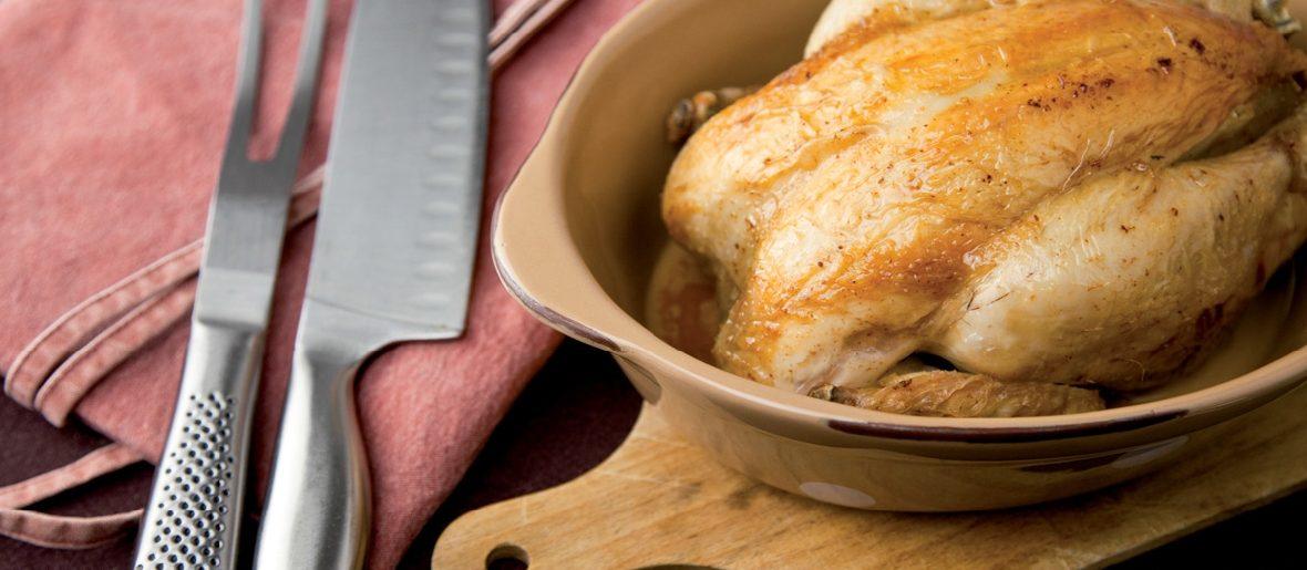 Réussir sans faute un poulet rôti