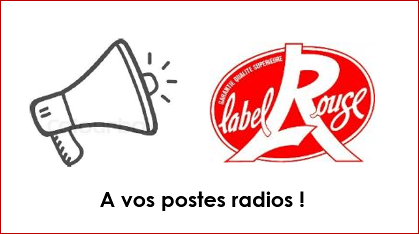 label rouge radio 2018